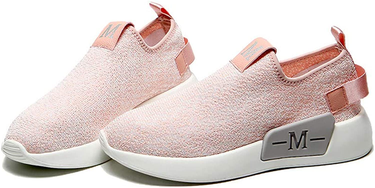 greenUSO Large Size Female 2019 Spring Summer Sneakers Mesh Upper Casual Comfortable All-Matched shoes
