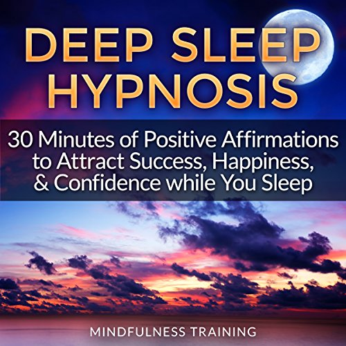 Deep Sleep Hypnosis audiobook cover art