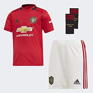 adidas Manchester United FC Official 2019/20 Home Mini Kit - Youth - Red -