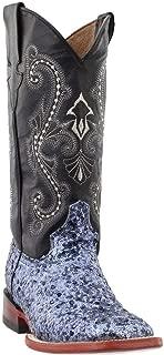 Ferrini Women's Sparkle Slate Sequin Cowgirl Boot Square Toe - 84393-56