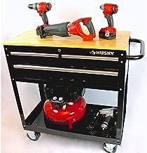 Best tool cart wood top Reviews
