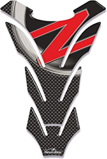 Argento Viviance Motociclo 3D Serbatoio Del Carburante Tappo Copertura Pad Adesivo Per Kawasaki Ninja Z1000 X-6R//10R//12R//14R Z750 Z800