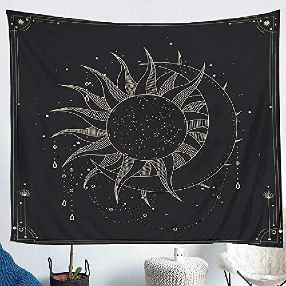 3D Tapestry shop Curtain Dallas Mall Sun Bedroom Dorm Room Living Tablec