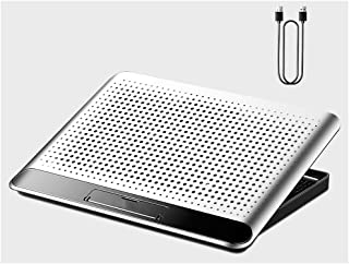 Aluminum Alloy Notebook Radiator 1 Powerful Fan Computer Bracket Game This Lifting Rack For 17 Inches (inclusive)