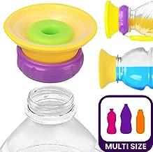 قبعة موني سيبي - تحول أي زجاجة عصير أو ماء إلى كوب مضاد للانسكاب، للأطفال، للأطفال، رائع، حقائب السفر والحقائب.