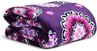Vera Bradley Throw Blanket in Lilac Medallion