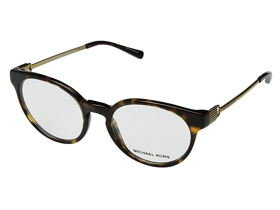 Michael Kors 0MK4048 (Dark Tortoise) Fashion Sunglasses, Brown