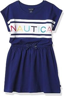 فستان كاجوال للفتيات من نوتيكا بأكمام قصيرة