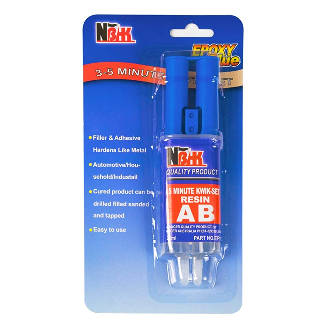 Epoxy Glue, 25ml MinuteWeld Instant-Setting Epoxy Syringe, Yanyi 0.85-Fluid Ounce Epoxy Resin Crystal Clear for Crack Damage Fixing Filling or Sealing