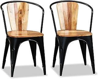 : Chaises de salle à manger Rustique Chaises