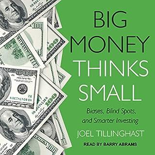 Big Money Thinks Small audiobook cover art