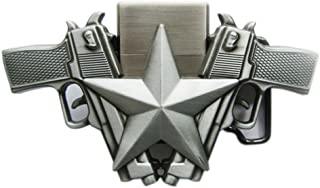New Vintage Guns Star Lighter Belt Buckle also Stock in US