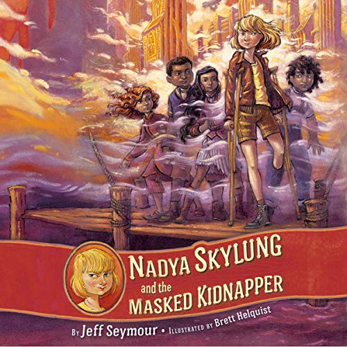 Nadya Skylung and the Masked Kidnapper audiobook cover art