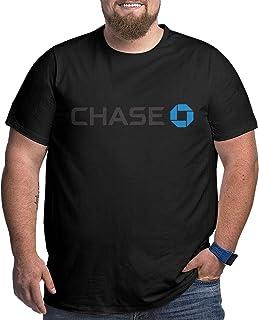 Jingliyu Designed T Shirt Jpmorgan Chase Bank Logo Fashion Large Size Shirt O-Neck for Mens Black