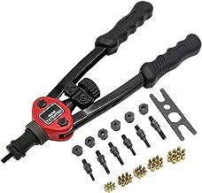 Small Kit de rebite de arma com 60 peças de rebites, fácil conjunto de ferramentas de rebite automático, cabo flexível res...