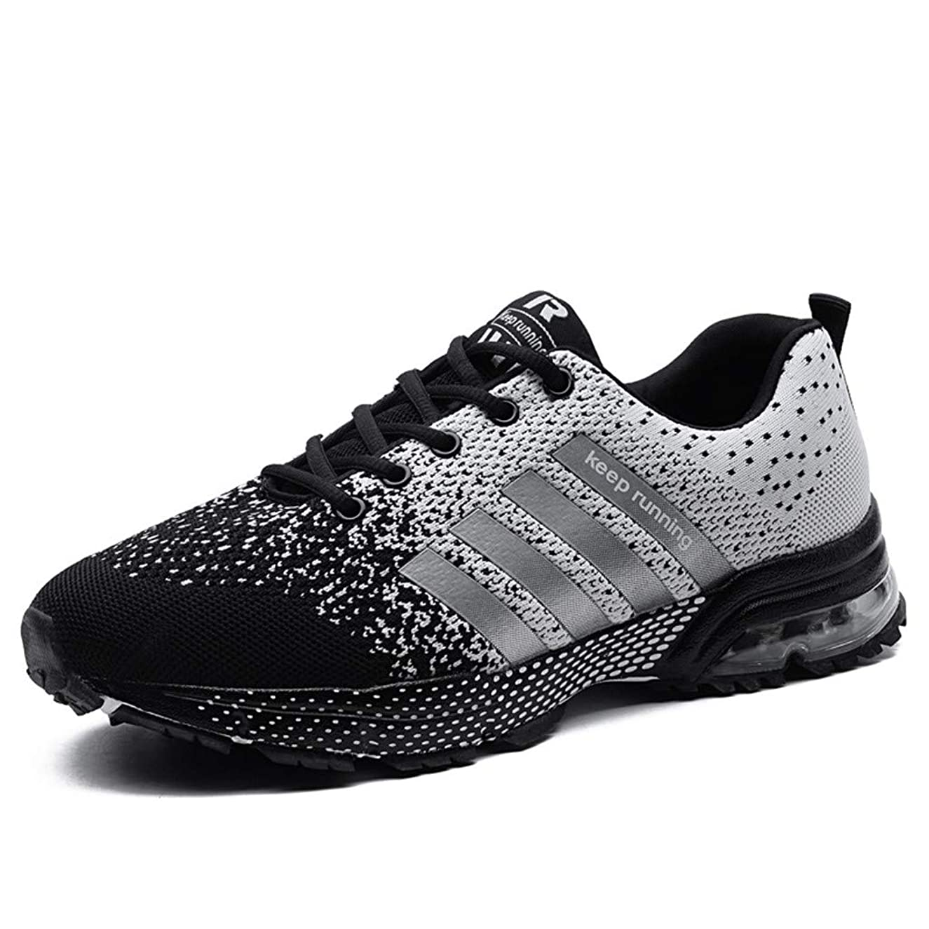 Women Sport Shoes Air Cushion Knit Breathable Casual Walking Running Sneaker