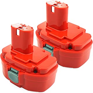 ADVNOVO 2 Pack 18V 3.5Ah Ni-MH Battery Compatible with Makita PA18 1822 1823 1834 1835 192826-5 192827-3 192829-9 193159-1 193140-2 193102-0 4334D 5026DA 5036DA 5046DA 6343D 6347D 8390D 8391D