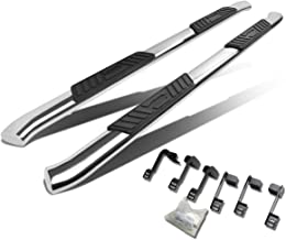 For Dodge Ram Truck Quad Cab 5 inches Curved Side Step Nerf Bar Running Board (Chrome)