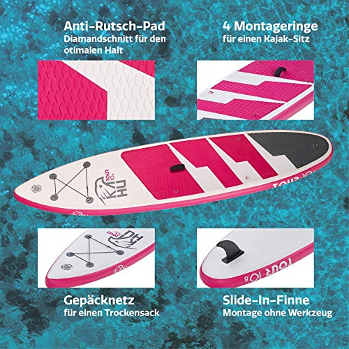 KAHU® Tour 10'8'' Stand up Paddling Board - 3