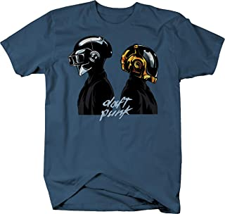 Daft Punk French Electronic Duo French House Disco EDC Helmets Tshirt