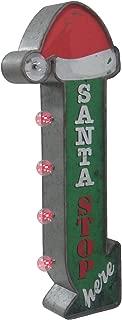 Best santa stop here metal sign Reviews