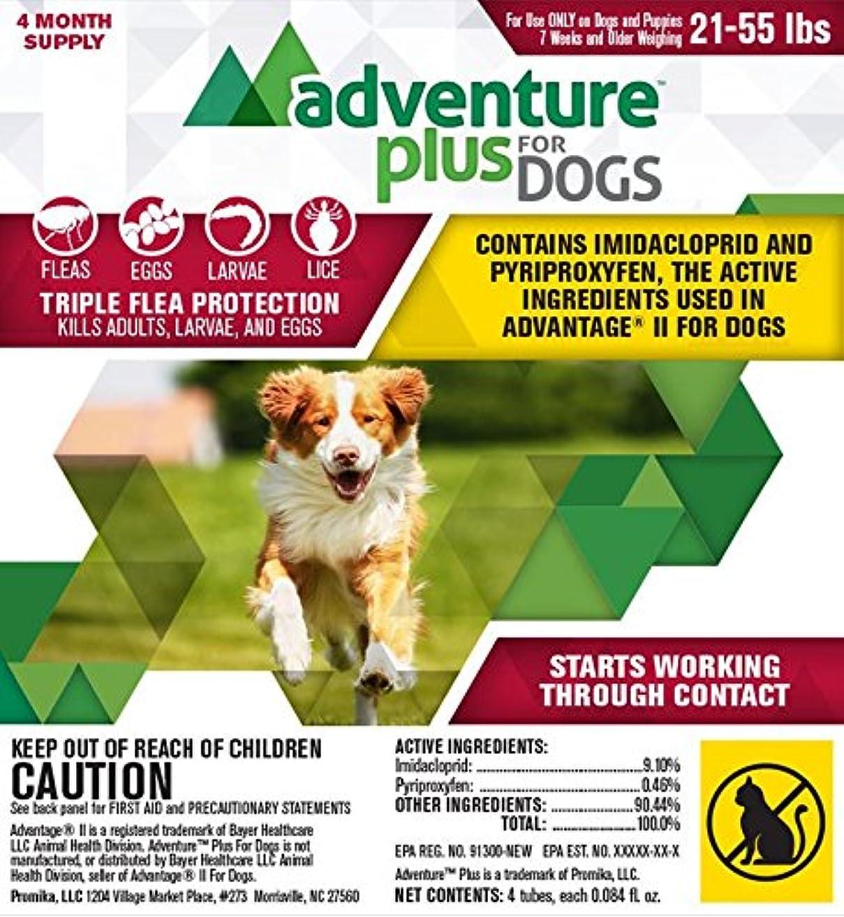 Adventure Plus for Dogs 4pk 21-55lb
