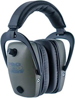 Pro Ears - Pro Tac Slim Gold - Military Grade Hearing Protection and Amplification - NRR 28 - Ear Muffs