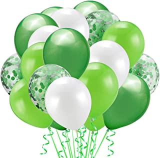 50 Pieces 12inch Gold Confetti Latex Balloons Set for Ramadan Eid Weddings Birthday Party Decoration Bridal Baby Shower (G...