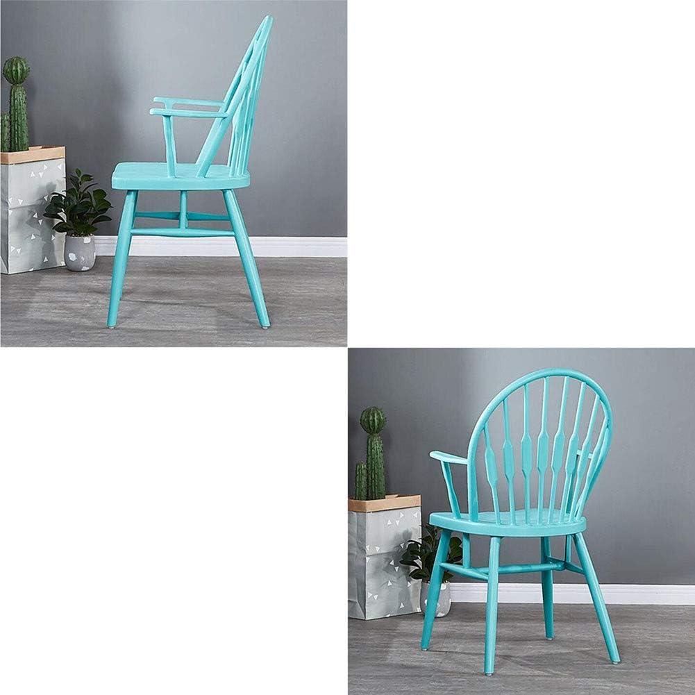 DALL Chaise De Salle À Manger Restaurant Chaise De Table en Plastique Moderne Chaise De Dossier De Loisirs Assemblée 48,5 × 53,5 × 97,5 Cm (Color : White) Blue