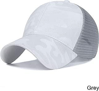 New Design Ponytail Caps for Women Camo Pattern Mesh Cap Summer Baseball Cap 3 No Tag