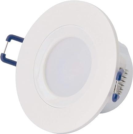 Bombilla de bajo Consumo DE 40 W en Espiral CFL con Base Media de luz Negra B luz Multifunci/ón Crewell 178mm*54mm*54mm