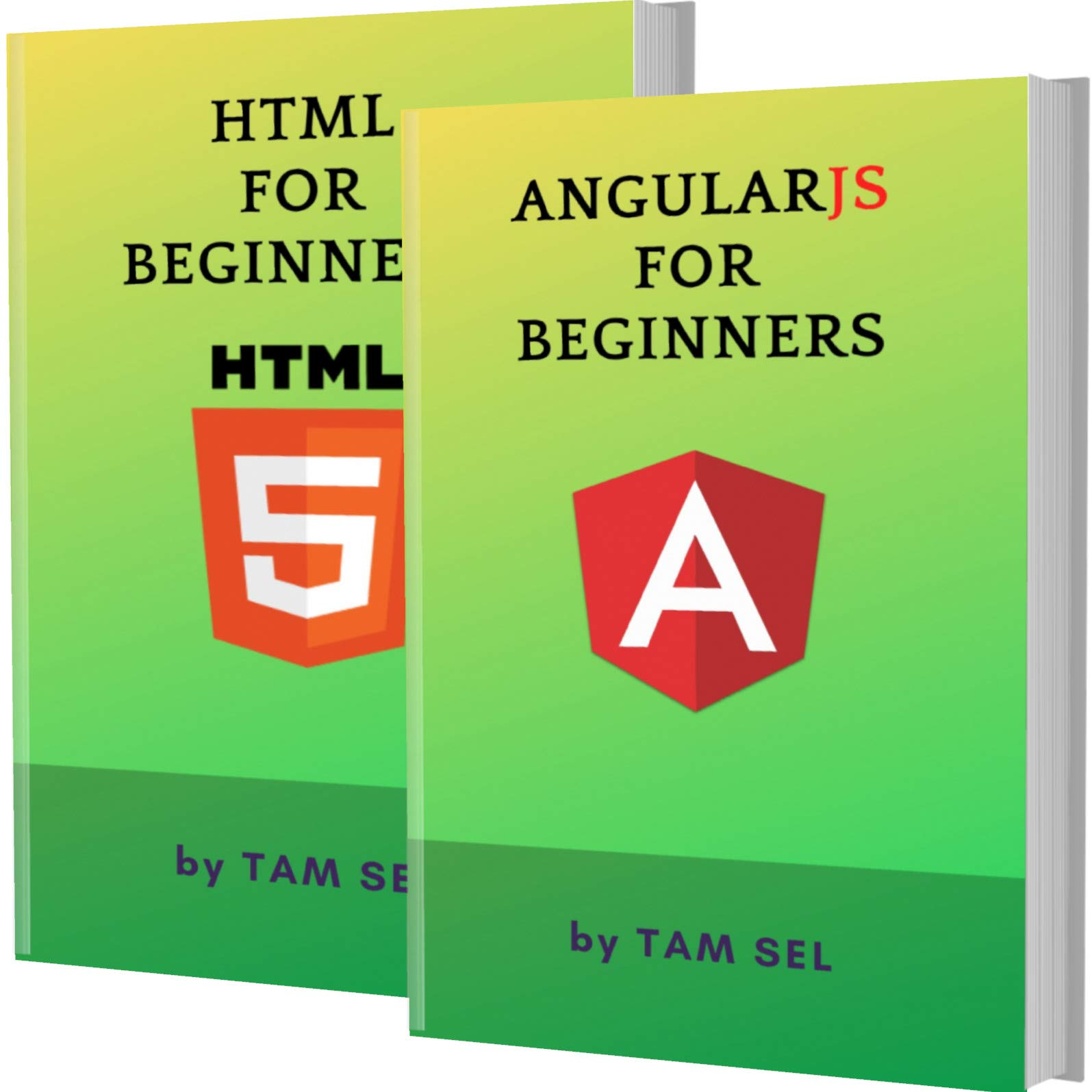 AngularJS AND HTML FOR BEGINNERS: 2 BOOKS IN 1 - Learn Coding Fast! AngularJS AND HTML Crash Course, A QuickStart Guide, Tutorial Book by Program Examples, In Easy Steps!