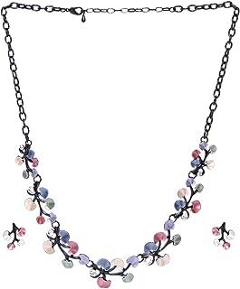 PRITA Fancy Statement Necklace Set for Girls/Women