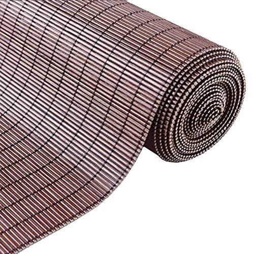 Bambus Roll up Rolläden, Blackout Roller Fenster Jalousien mit Valance, Lichtfilter Shading Rolläden für Patio, Rasen & Garten, Größe Anpassbare (Size : 80x180cm)