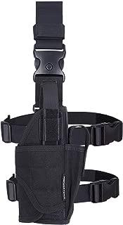 MGFLASHFORCE Drop Leg Holster, Adjustable Molle Tactical Thigh Pistol Gun Holster Right Handed