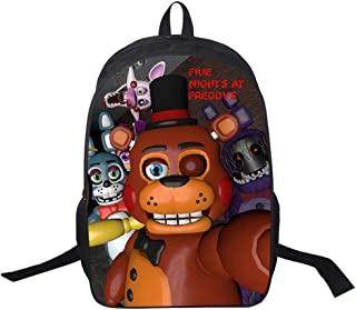 CJIUDI School Backpack,Prints School Bag,Lightweight Backpack,Casual Rucksack,Game School Bag - C for Men/Women/Boys/Girls(with Headphone Jack)