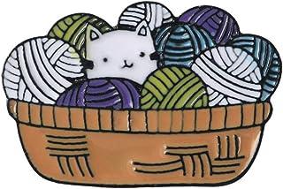Oce180anYLV Creativo Spilla Pin Inglese Lettera Non Crescere Bagaglio Gatto Distintivo Collare Spilla Pin Bavero Gioielli