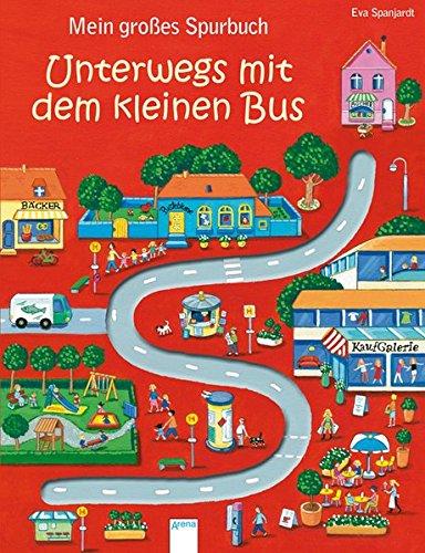 Mein großes Spurbuch - Unterwegs mit dem kleinen Bus