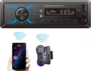 SEMAITU Smart Car Audio Systems, Single Din Multimedia Car Stereo, USB SD Support Mobile APP Control Bluetooth MP3 Hands-F... photo