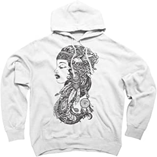 Gypsy Girl Men's Graphic Pullover Hoodie - Design By Humans