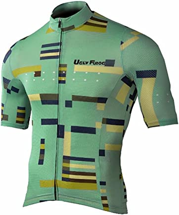 Uglyfrog Fashion Cycling Clothing Mens Rage MTB//Downhill Jersey Motocross Mountain Bike Shirt SJFX09M