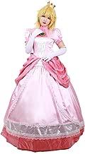 miccostumes Women's Princess Peach Cosplay Costume