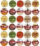 30 Cup Cake Boss & Guy Fieri Flavored Coffee Sampler! 10 Unique! New Flavors! Chocolate Cannoli,...