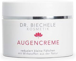 Dr. Biechele AUGENCREME 1er Pack 1 x 50 ml - feuchtigkeits-spendene Augenpflege bei trockener, sensibler Haut für Anti-Aging Schutz gegen Augenfalten, mit Avocado-Öl & Bienenwachs