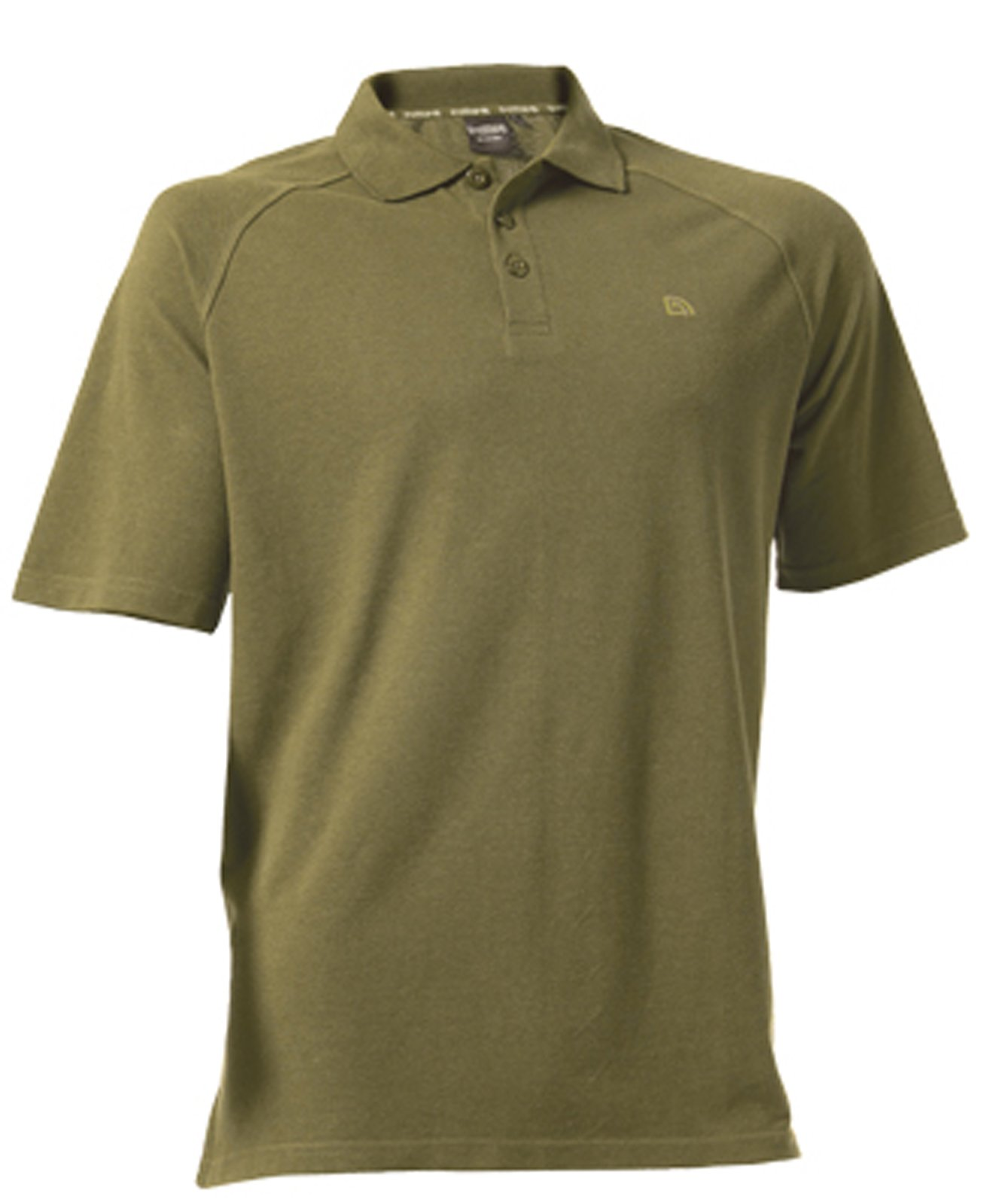 Camisa de Polo en color verde oliva - pequeño por Trakker: Amazon.es: Deportes y aire libre
