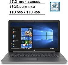 Best hp 17.3 core i7 laptop Reviews