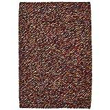Think Rugs Pebble Efecto anudadas a Mano 100% Lana Gran Alfombra Elegante Juego de Centro tamaños, Lana, 150 x 230 cm