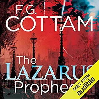 The Lazarus Prophecy cover art