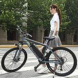 MRMRMNR Bicis Electricas Mujer, Bicicleta Adulto Hombres 36V350W, Neumáticos De 26 Pulgadas Bicicleta Moma, Transmisión De 27 Velocidades, Interruptor De 3 Modos, Pantalla HD