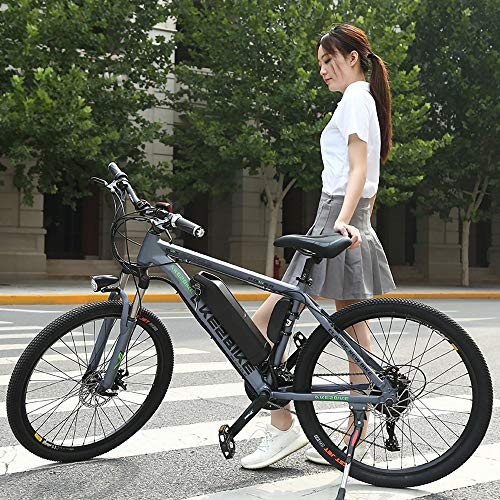 MRMRMNR Bicis Electricas Mujer, Bicicleta Adulto Hombres 36V350W, Neumáticos De 26 Pulgadas...